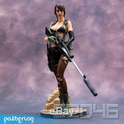 Metal Gear Solid V Quiet 1/6 Unpainted Model Resin GK Statue Figure Collection