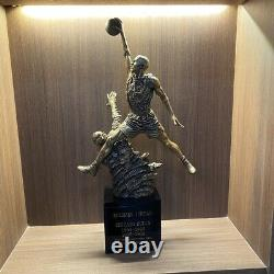 Michael Jordan Basketball Superstar Figure Statue Resin Collectible with Box New