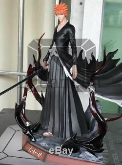 Model Palace BLEACH Kurosaki ichigo Resin Statue Limited Figure Two Head Sculpts