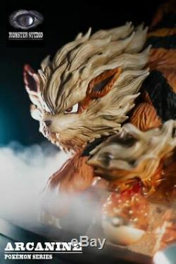 Monster Studio Arcanine Resin Scale Painted Figure GK Model Statue Collect Pre N