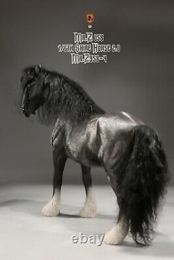 Mr. Z MRZ058-4 1/6 Shire Horse Figure Statue Model Without Harness Fit 12'' Figur