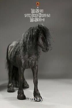 Mr. Z MRZ058-5 1/6 Shire Horse Figure Statue No Harness 12'' Figure Accessories