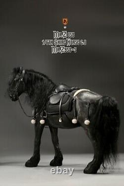 Mr. Z MRZ058-5 1/6 Strong Horse Shire Horse & Harness Set Figure Statue Model