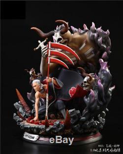 NARUTO Evil Hidan Resin GK Statue Akatsuki Series Anime Action Figure Collection