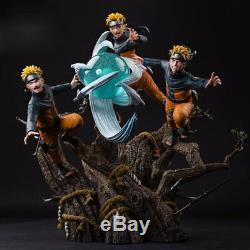 NARUTO Uzumaki Naruto Figure Rasengan Kagebunsin no jyutsu Statue Resin Statue