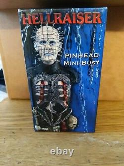NECA HELLRAISER PINHEAD RESIN 7MINI-BUST STATUE horror FIGURE