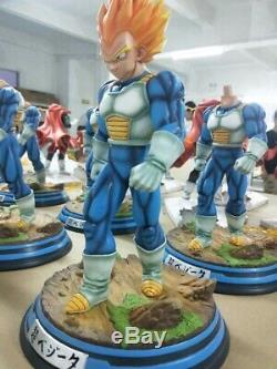 NEW DBZ Dragon Ball Super Saiyan SSJ Vegeta Resin GK statue Figure IN BOX