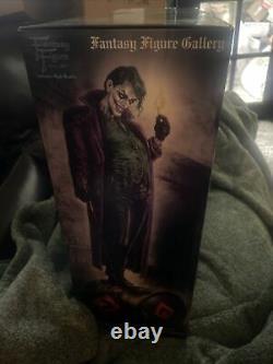 NEW Fantasy Figure Gallery The Joker Statue by Luis Royo Resin Harley Quinn
