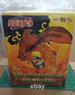 Naruto Nine Tailed Fox 6 Resin Statue Figure Number 0019 or 20 Of 1000