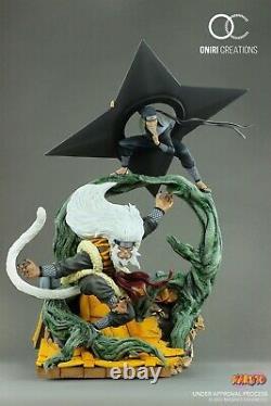 Naruto Sandaime Hokage The Last Fight Statue Resin Figure Oniri