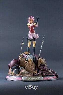 Naruto Shippuden Sakura Haruno 1/6 Resin Statue Action Figure Sasori's Puppets