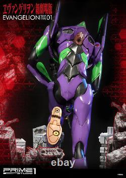 Neon Genesis Evangelion Eva 01 Statue Resin Figure New Prime 1