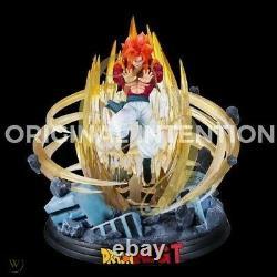 OI Studio Dragonball GT SSJ4 Gogeta Saiyan GK Resin Statue Figure Dragon ball Z