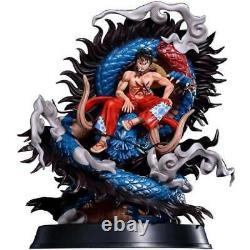 ONE PIECE Figure Cola STUDIO 16 LUFFY & Dragon Kaido Resin Statue In stock NEW