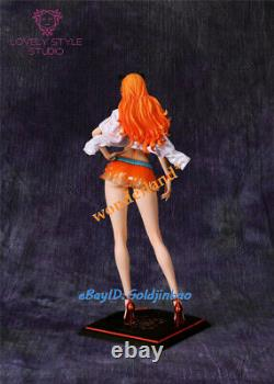 One Piece Nami Fashion Suit Resin Figure Model Painted Statue Pre-order 1/6 GK