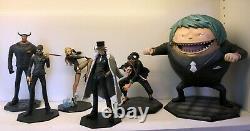 One Piece POP + Model Palace GK Resin CP9 6pieces Figure Statue