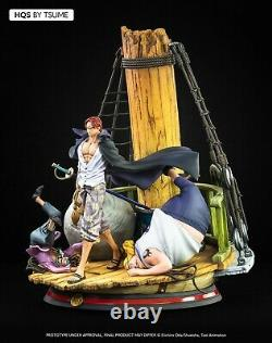 One Piece Shanks Hqs Tsume Resin New Figure Statue. Pre-order