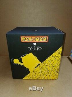 PACMAN x Orlinski Official Sculpture Statue Resin Figure Black 18CM Bandai