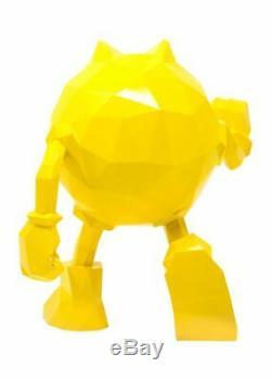 PAC-MAN x Orlinski Statue Figure Vinyl Resin Sculpture Yellow Bandai NES HOF