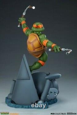 POP CULTURE SHOCK PCS EXCLUSIVE Michelangelo Statue 14 Scale Figure SIDESHOW