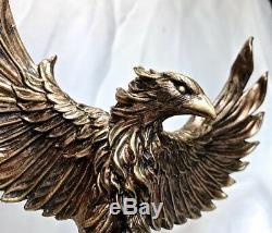 Phoenix Statue Resin Sculpture Figure Figurine Art Artwork Hand Carved Sculpt
