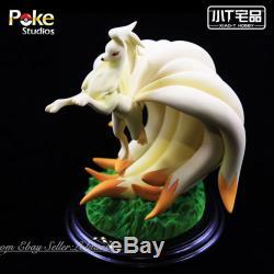 Poke Studio Pokemon Go Deluxe Figure Ninetales Model Resin Statue
