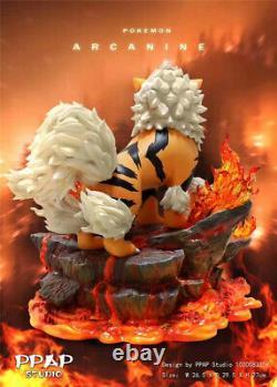Pokemon Arcanine Statue Resin PPAP Studio Figure Figurine Collection Model Toy