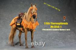 Pre Mr. Z 1/6 MRZ056-1 Resin Thoroughbreds War Horse Statue Animal Figure Model