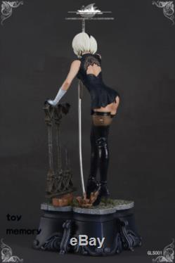 Preorder Green leaf NieRAutomata 2B figure Limited 1/7 resin statue Limited