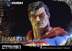 Prime 1 Studio Superman Hush Solid Cape 3 Heads 13 Sideshow Statue Figure L750