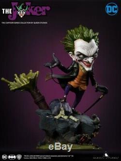 Queen Studios The Joker Figure 25cm Cartoon Series JOKER Statue Collectible