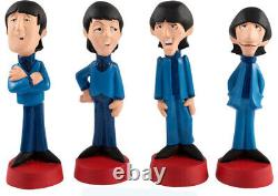 Rare Beatles 1965 T. V. Show Cartoon Resin Statue Figures Mint In Original Box 6