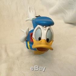 Rare Disney Donald Duck Running Figure Figurine Statue-MIB