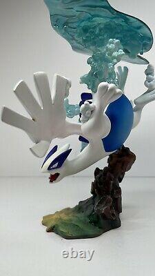 Rare Poke Studio Diving Lugia Statue Resin Pokemon Figure