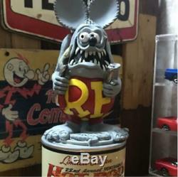 Rat Fink Paint Can Figure Statue Collectible Hot Rod Custom 2013 300 limited