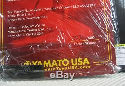 Red Assassin Statue 042/600 Yamato Fantasy Figure Gallery NEW SEALED