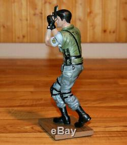 Resident Evil 1 2 3 Chris Redfield Resin Statue Figure Limited Edition Gaya