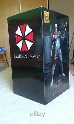 Resident Evil Resin Statue Figure Tyrant Limited To 750 Mint Condition Very Rare