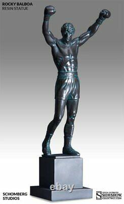 Rocky III Rocky Balboa Statue Resin Figur Schomberg Sideshow
