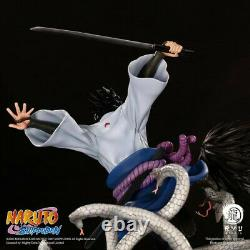 Ryu Studios Official Naruto Uchiha Sasuke 1/6 Statue Figure Original 2Pcs/Set