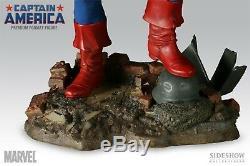 SIDESHOW EXCLUSIVE CAPTAIN AMERICA 1/4 PREMIUM FORMAT FIGURE STATUE HULK Bust