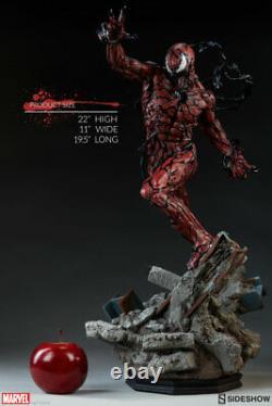SIDESHOW EXCLUSIVE CARNAGE PREMIUM FORMAT STATUE Figure Statue Spider-man Venom