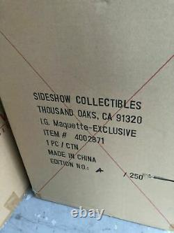 SIDESHOW EXCLUSIVE IRON GIANT STATUE MAQUETTE Low 4/250 Figure Diorama Superman
