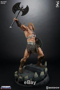 SIDESHOW EXCLUSIVE NEW! HE-MAN PREMIUM FORMAT Figure Statue MARVEL Bust SHE-RA