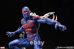 SIDESHOW EXCLUSIVE SPIDER-MAN 2099 PREMIUM FORMAT (Damage) STATUE figure Statue