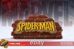 SIDESHOW EXCLUSIVE SPIDER-MAN #4/400 Legendary Scale Bust STATUE Premium Figure