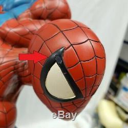 SIDESHOW EXCLUSIVE SPIDER-MAN COMIQUETTE PREMIUM FORMAT Figure Statue Venom