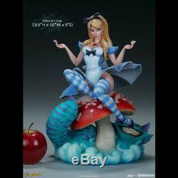 SIDESHOW J Scott Campbell Alice in Wonderland Figure Statue