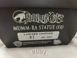 SIDESHOW MUMM-RA EXCLUSIVE Mixed Media STATUE LTM 300 THUNDERCATS Figure Lion-o