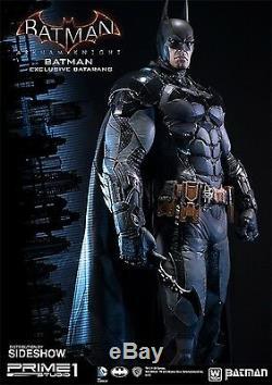 SIDESHOW Prime1 STUDIO 13 BATMAN Arkham Knight EXCLUSIVE STATUE Dark Figure